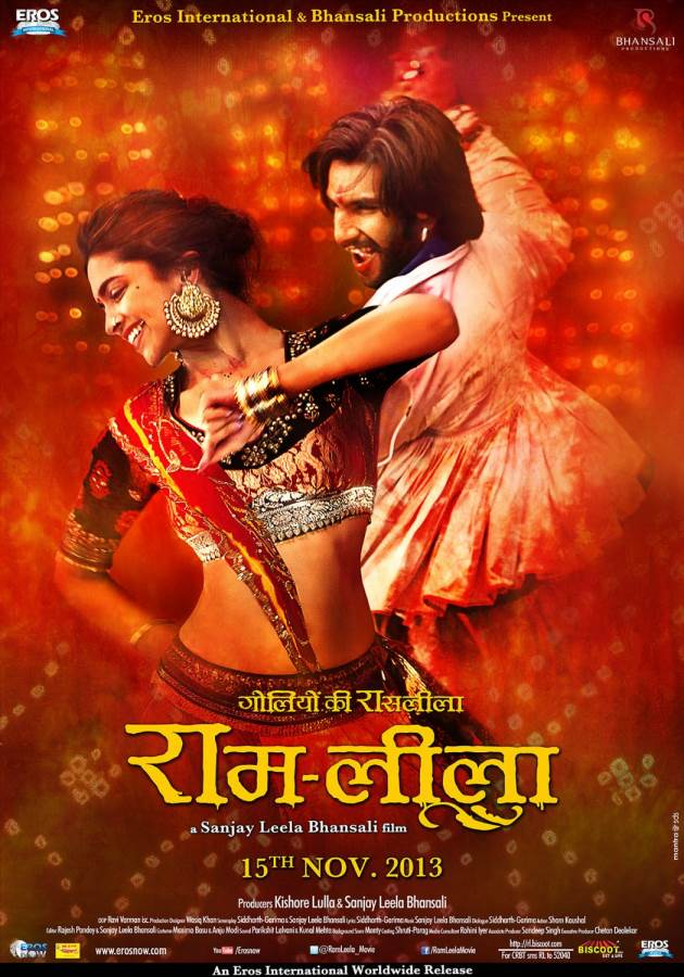 Goliyon Ki Rasleela Ram Leela-SLB's own tribute to the Bard! Movie review Hindi