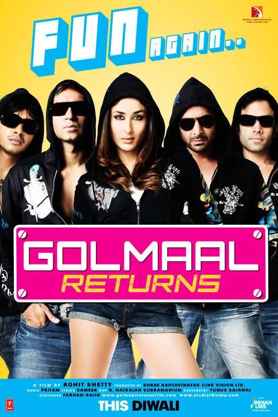 Golmaal Returns Movie Review