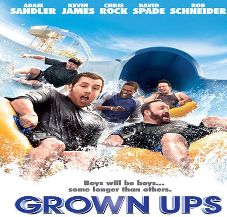 Grown Ups Movie Review English Movie Review