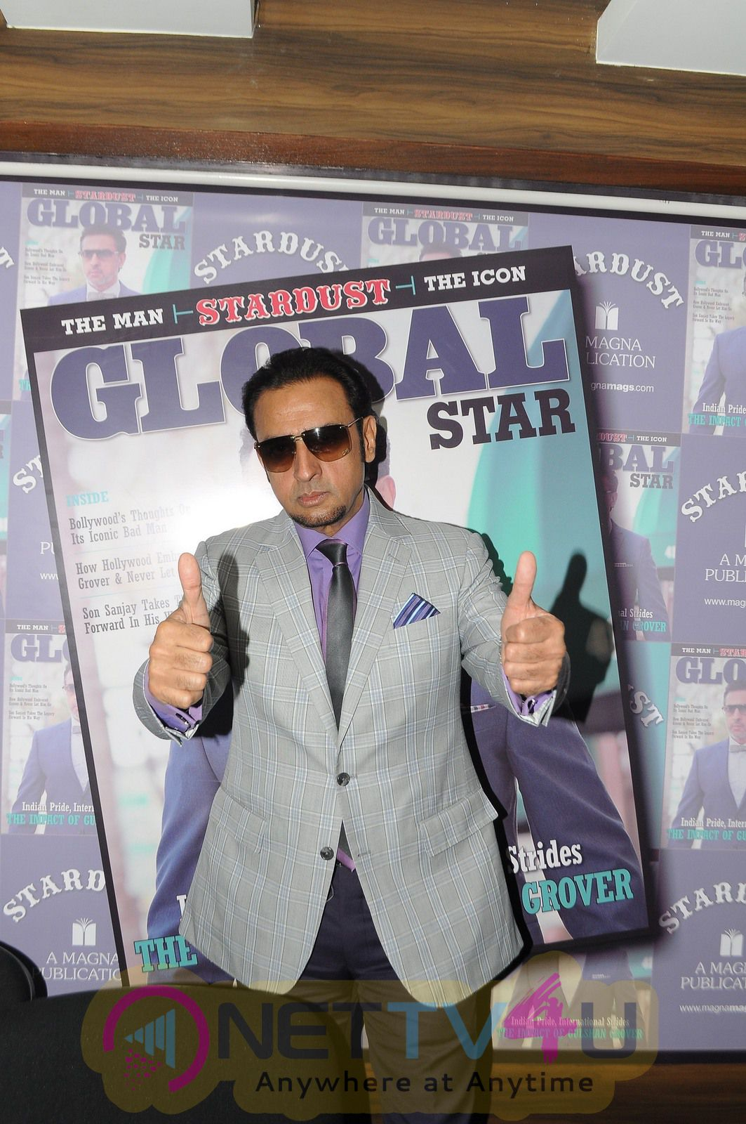 Gulshan Grover Unveiled Special Edition Of Global Star Magazine Photos Hindi Gallery