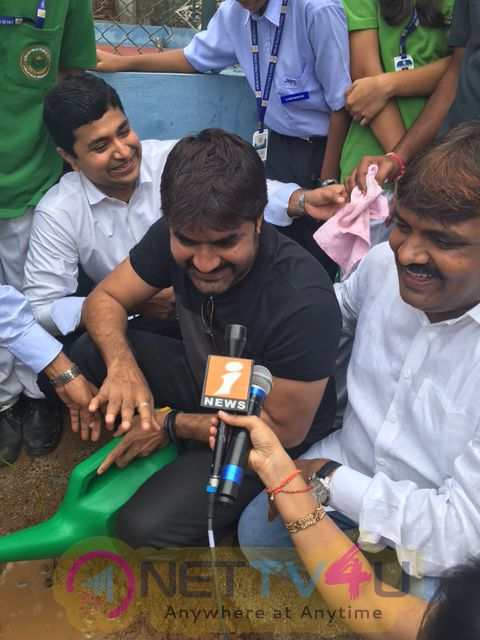 Haritha Haram By Srikanth And Mayor Bonthu Ram Mohan At Jubilee Hills Public School  Classy Stills