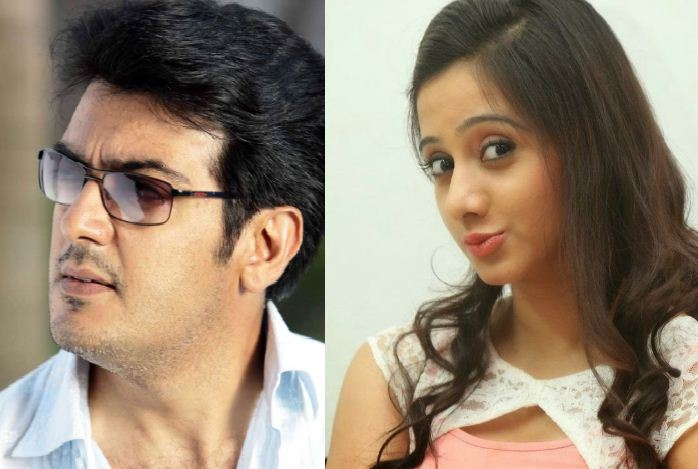 Harshika Poonacha Dreams To Work With Ajith!