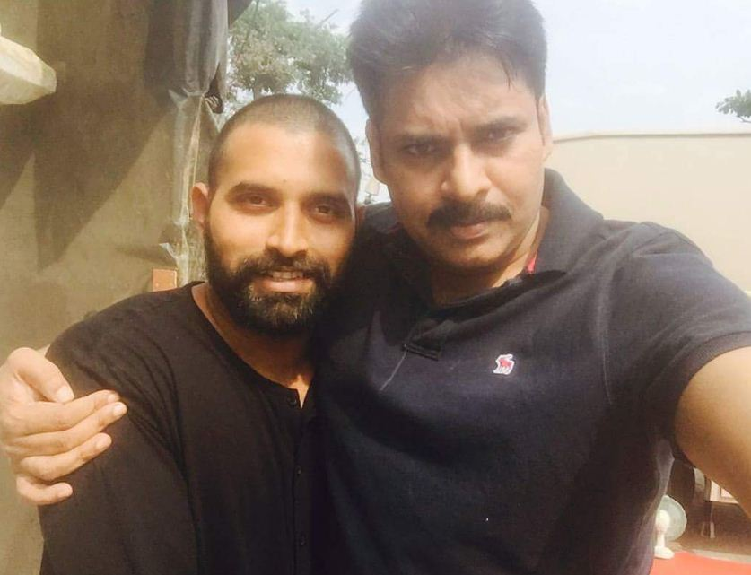 Here Is The Latest Picture From The Sets Of Katamarayudu!