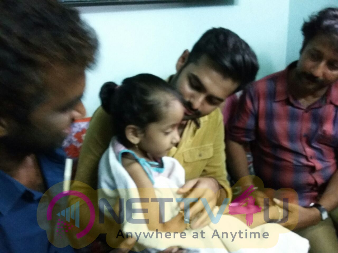 Hero Ram Meets His Suffering Fan Photos