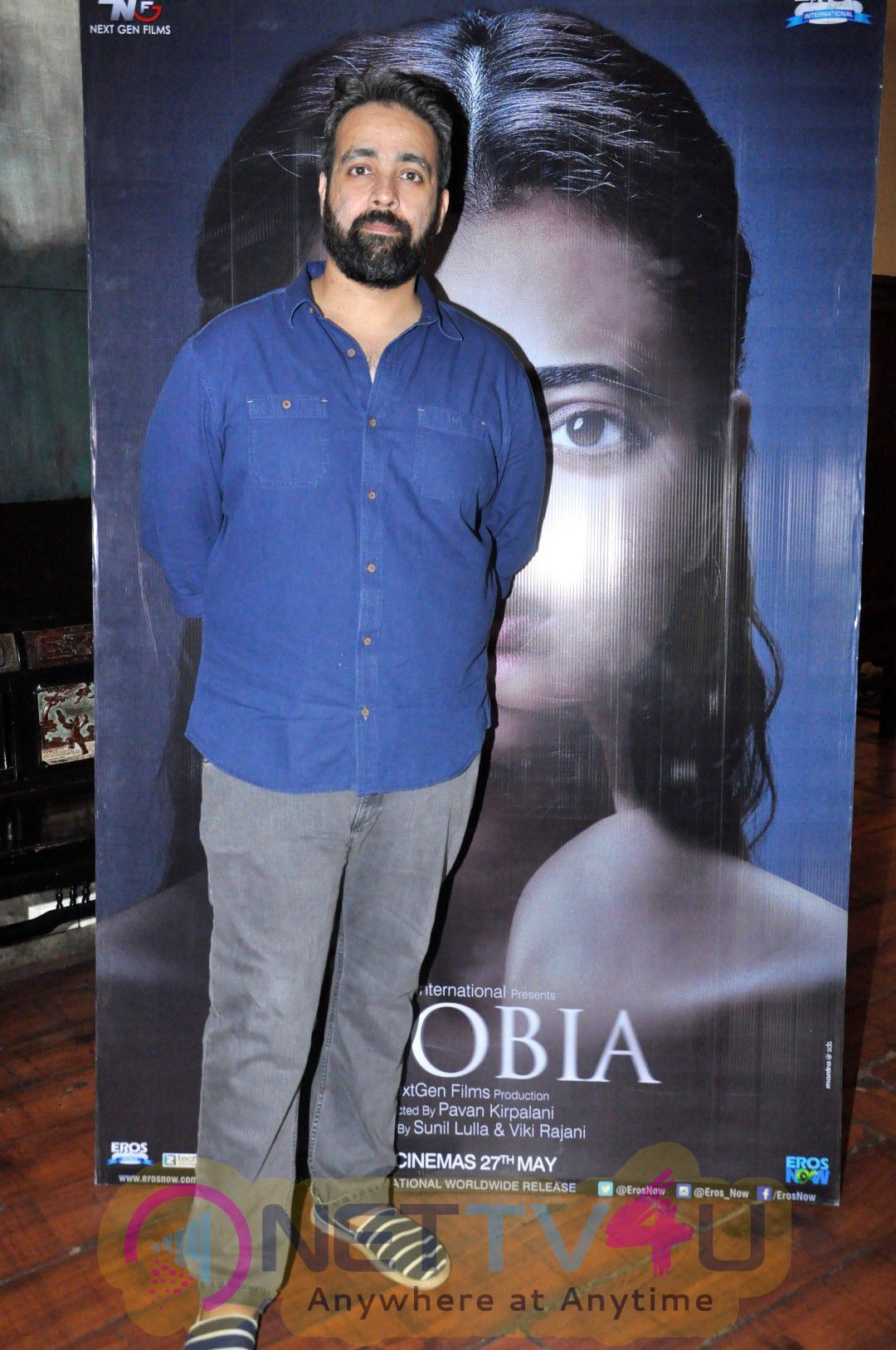 High Quality Photos Of Director Pawan Kripalani Interview For Film Phobia