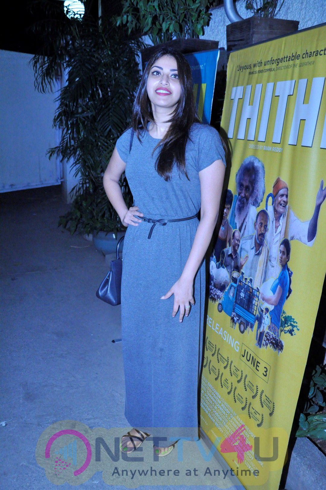 High Quality Pictures Of Kangana Ranaut At Screening Of Film Thithi