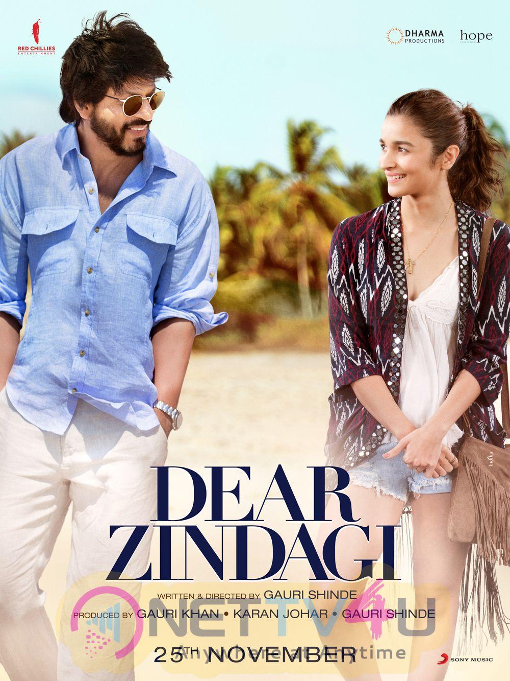 Hindi Movie Dear Zindagi New Grand Poster