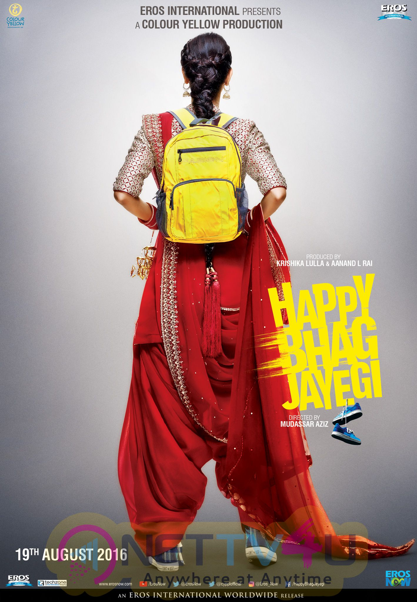 Hindi Movie Happy Bhag Jayegi Teaser Attractive Poster