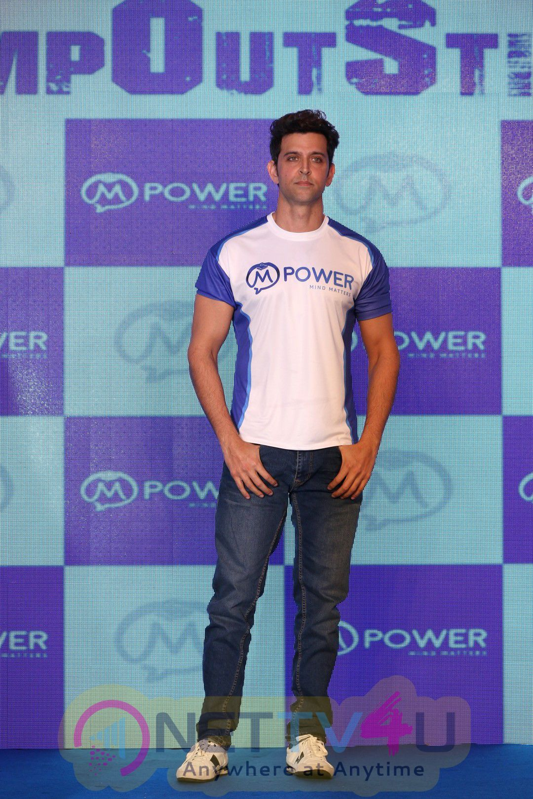 Hrithik Roshan At The Launch Of Mpower's Everyday Heroes Campaign Exclusive Photos