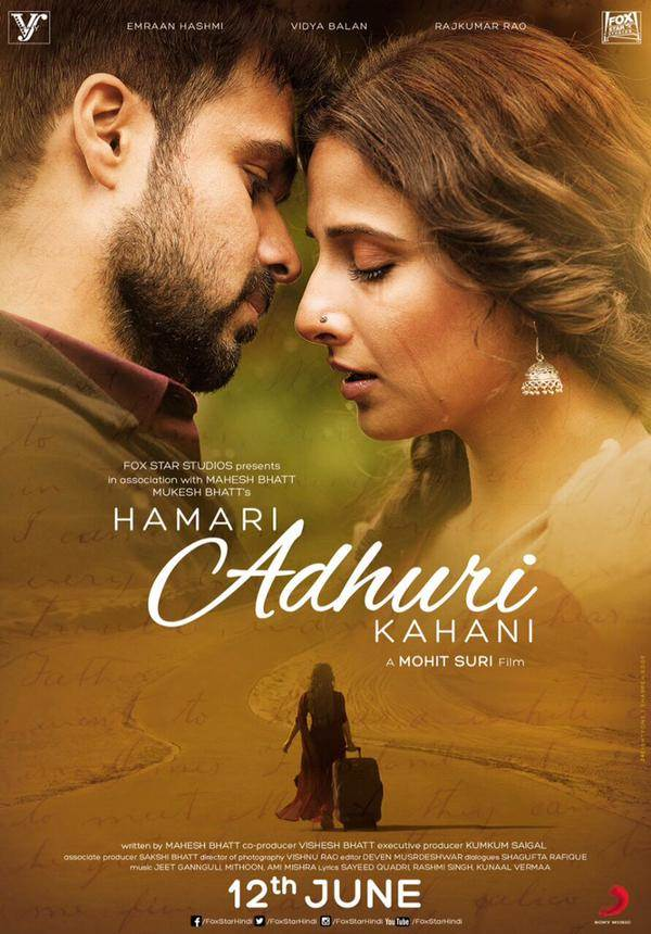 Hamari Adhuri Kahani Movie Review Hindi