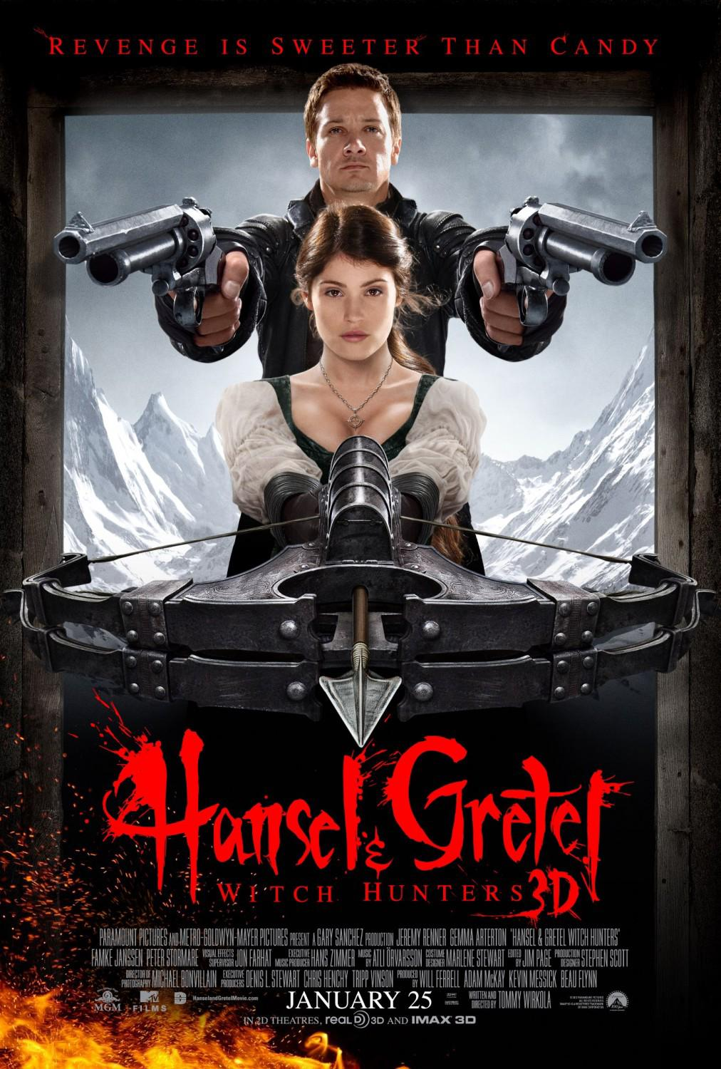 Hansel and Gretel: Witch Hunters Movie Review English