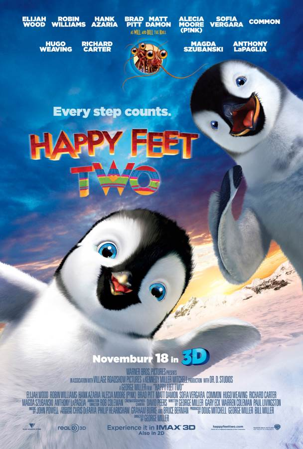 Happy Feet Two Movie Review English