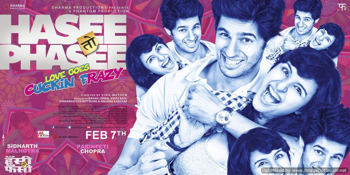 Hasee Toh Phasee Movie Review Hindi
