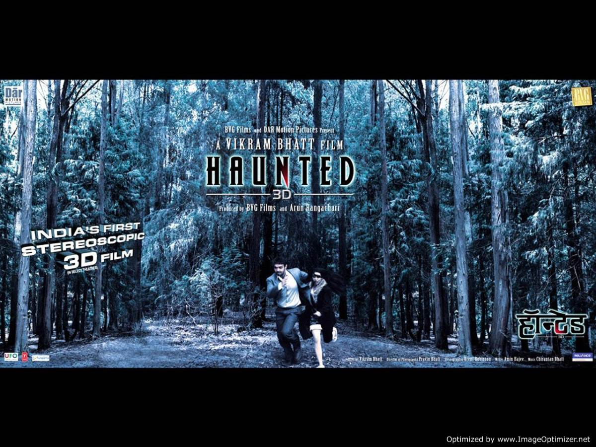 Haunted 3D Movie Review Hindi