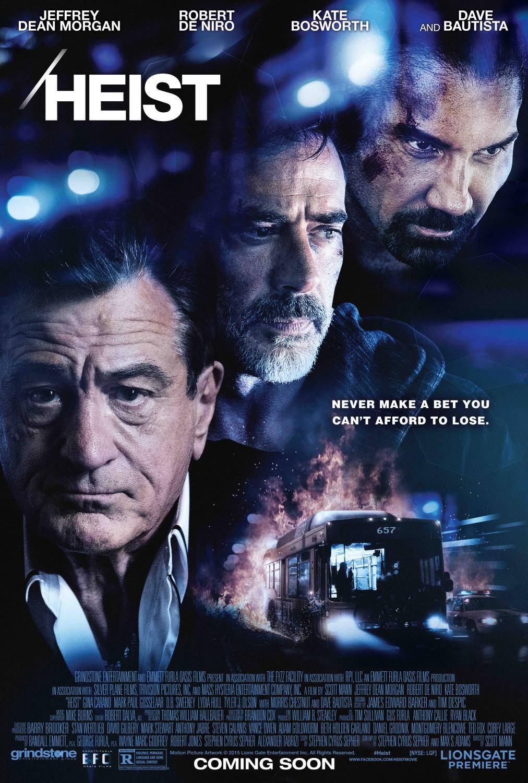 Heist Movie Review English