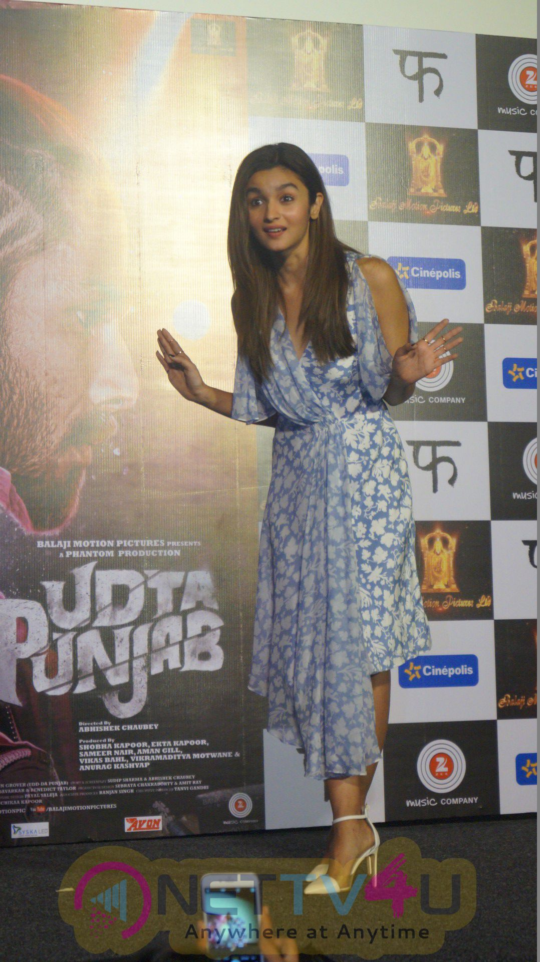 High Quality Photos Of Alia Bhatt At Song Launch Of Udta Punjab