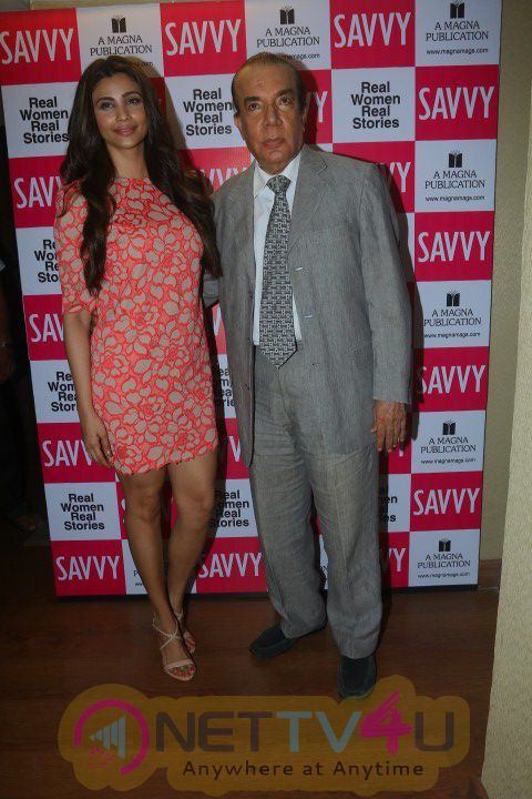 High Quality Photos Of  Daisy Shah Unveil The May 2016 Issue Of Savvy Magazine
