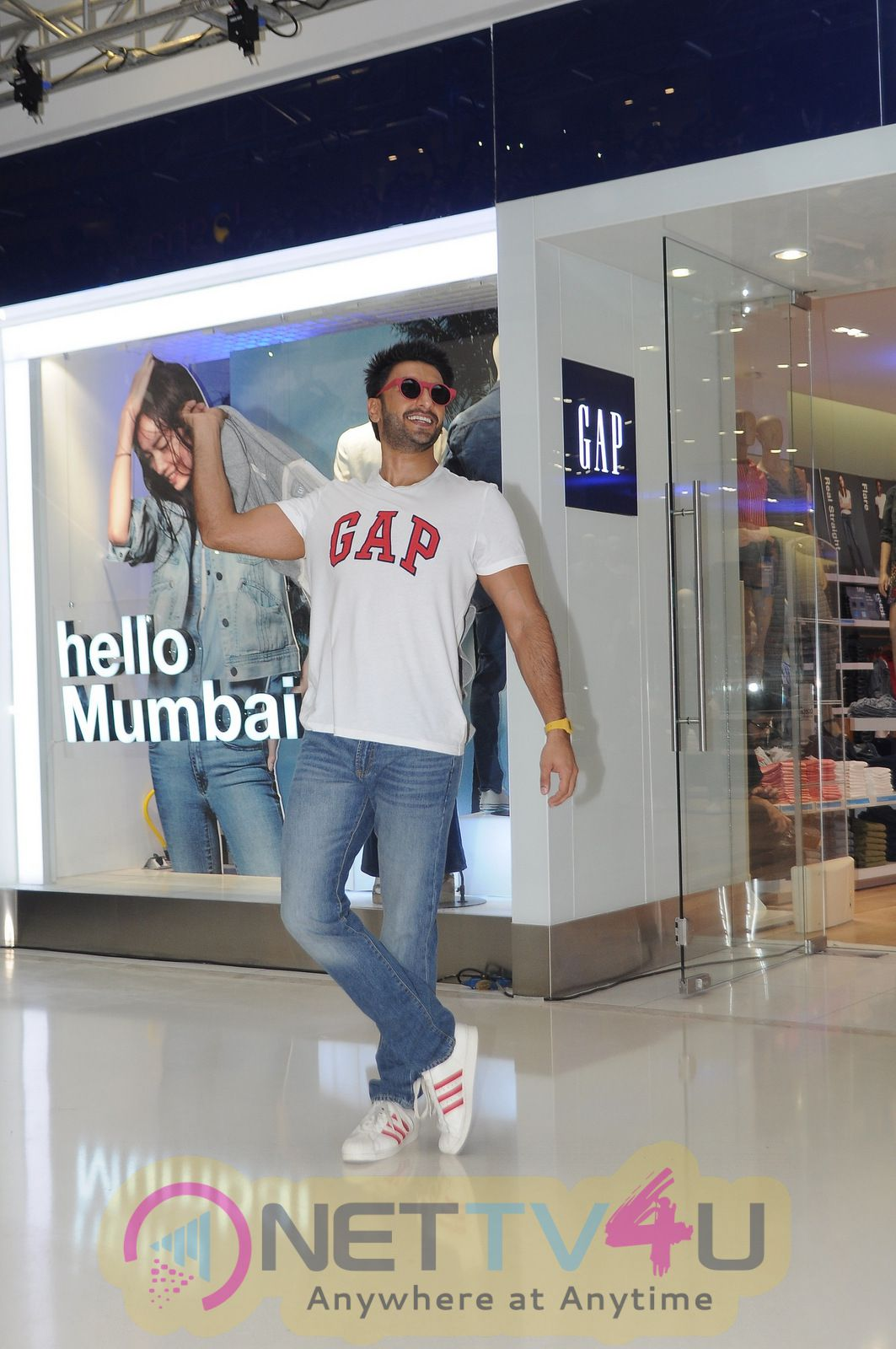 High Quality Pictures Of Ranveer Singh At GAP Store Launch In Mumbai