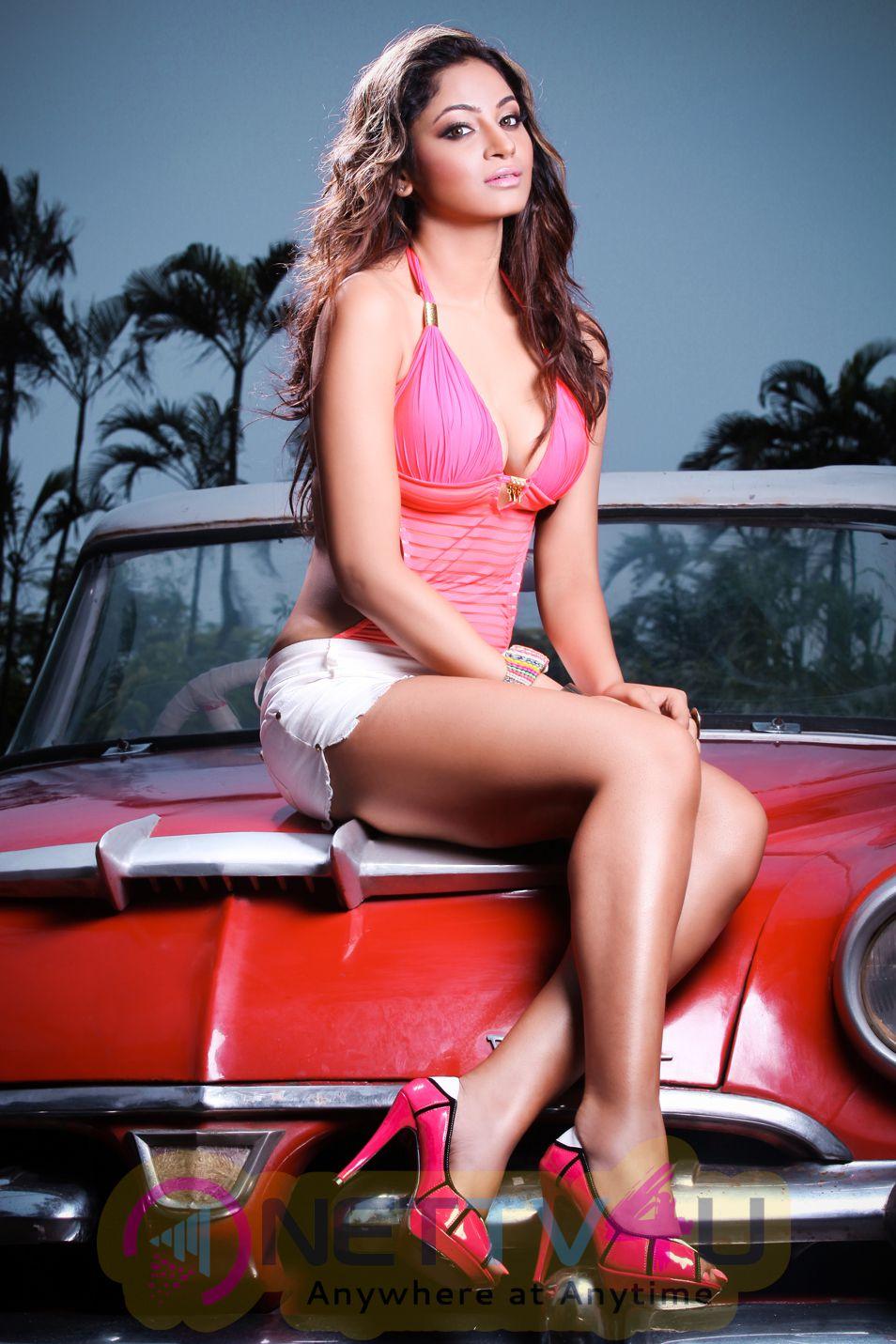 Hindi Actress Shilpi Sharma Hot Photo Shoot Stills