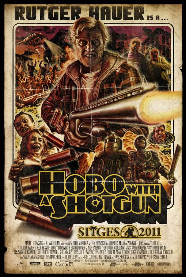 Hobo With A Shotgun Movie Review English