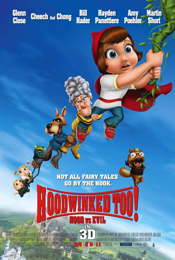 Hoodwinked Too! Hood Vs. Evil Movie Review English
