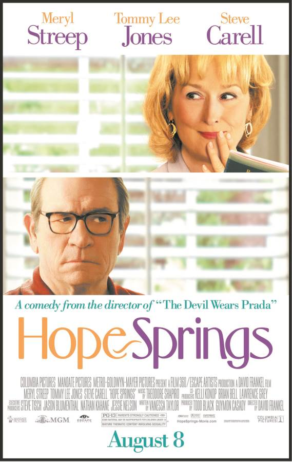 Hope Springs Movie Review English