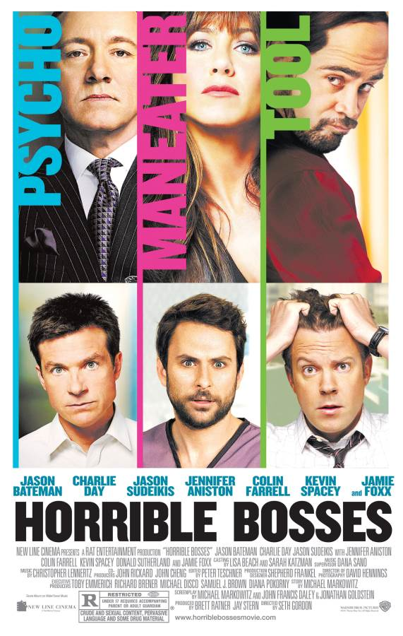 Horrible Bosses Movie Review English