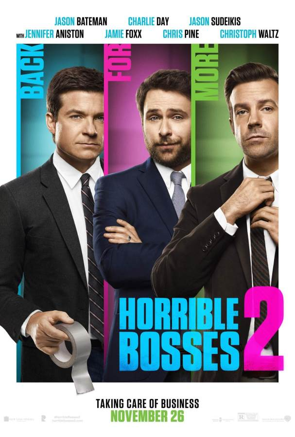 Horrible Bosses 2 Movie Review English