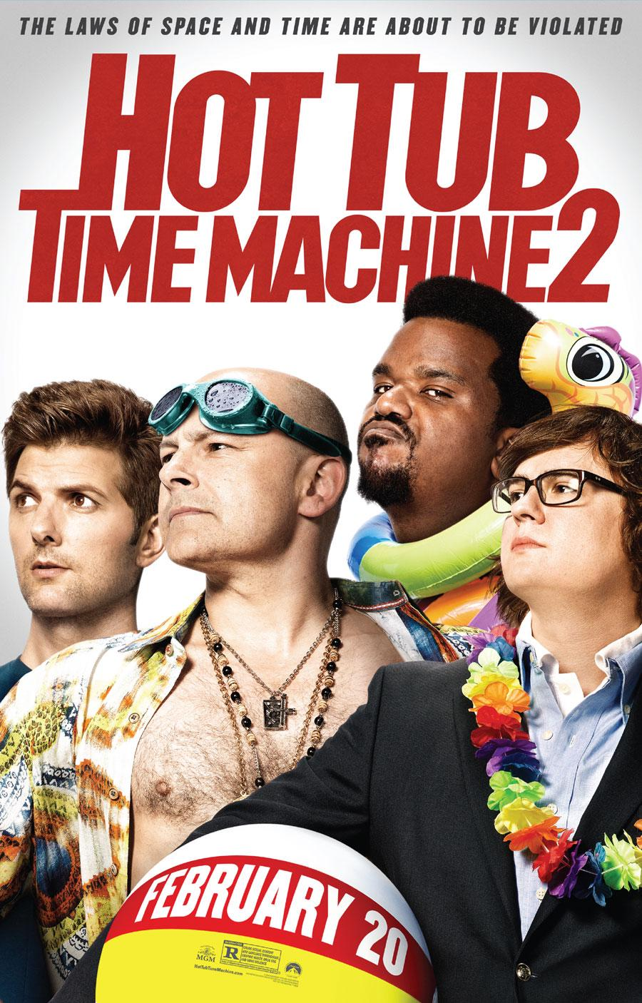 cast of tub time machine 2