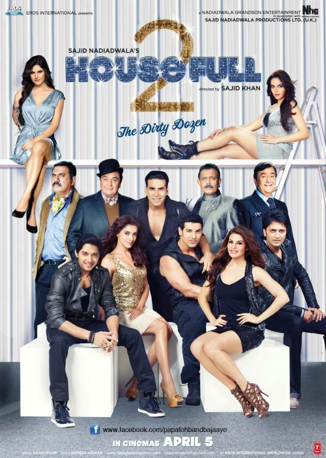 Housefull 2  Movie Review Hindi