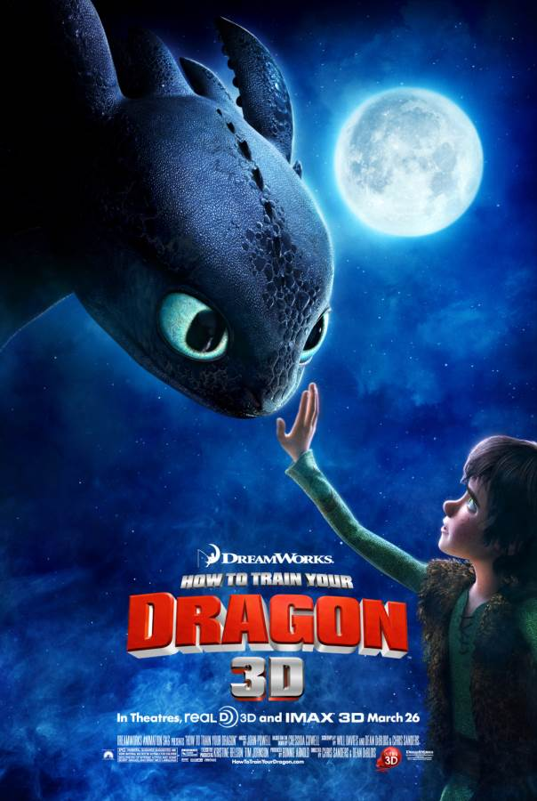 How To Train Your Dragon Movie Review English