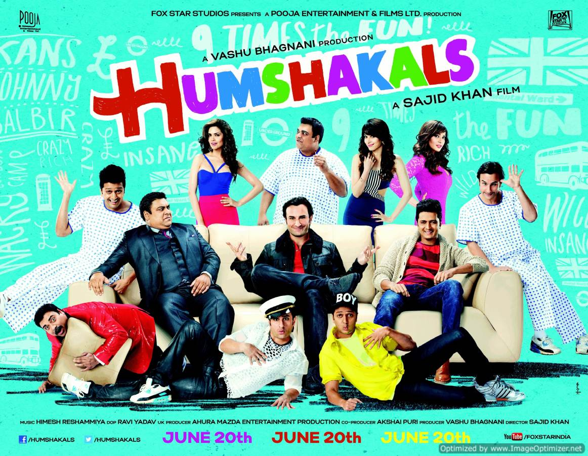 Humshakals Movie Review Hindi