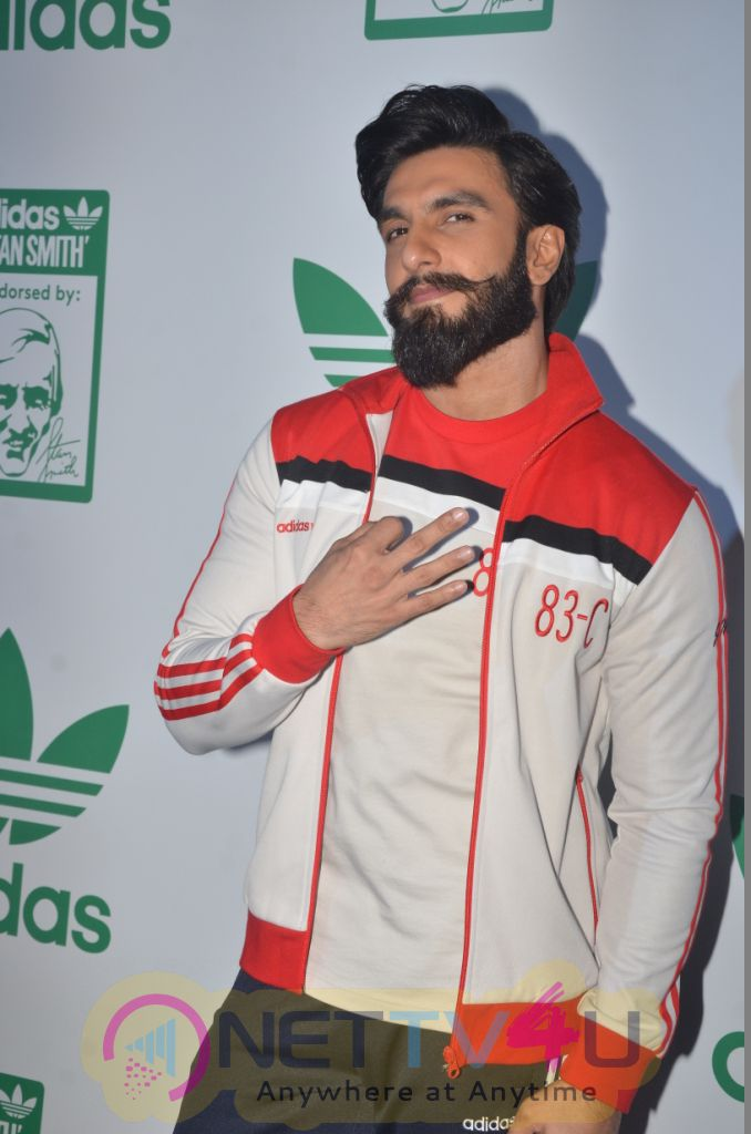 Icon Stan Smith Launch In India With Ranveer Singh Photos
