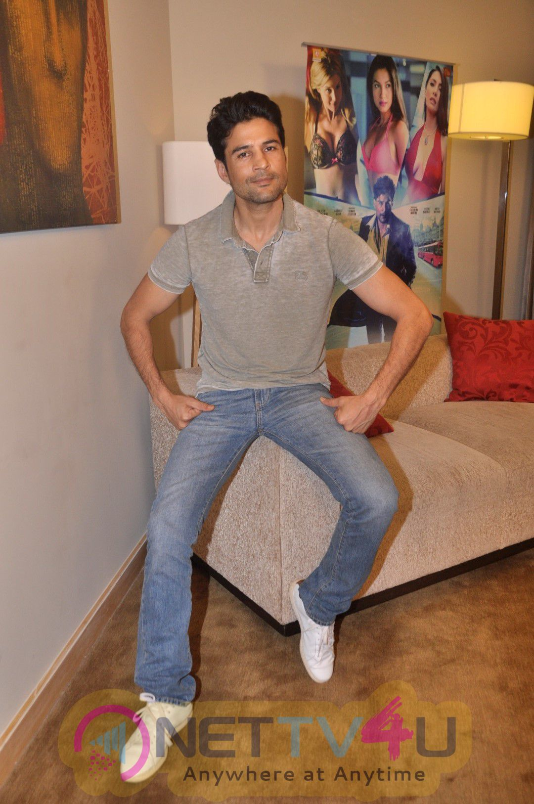 Interview Of Rajeev Khandelwal And Caterina Murino For Fever Movie Lovely Photos Hindi Gallery