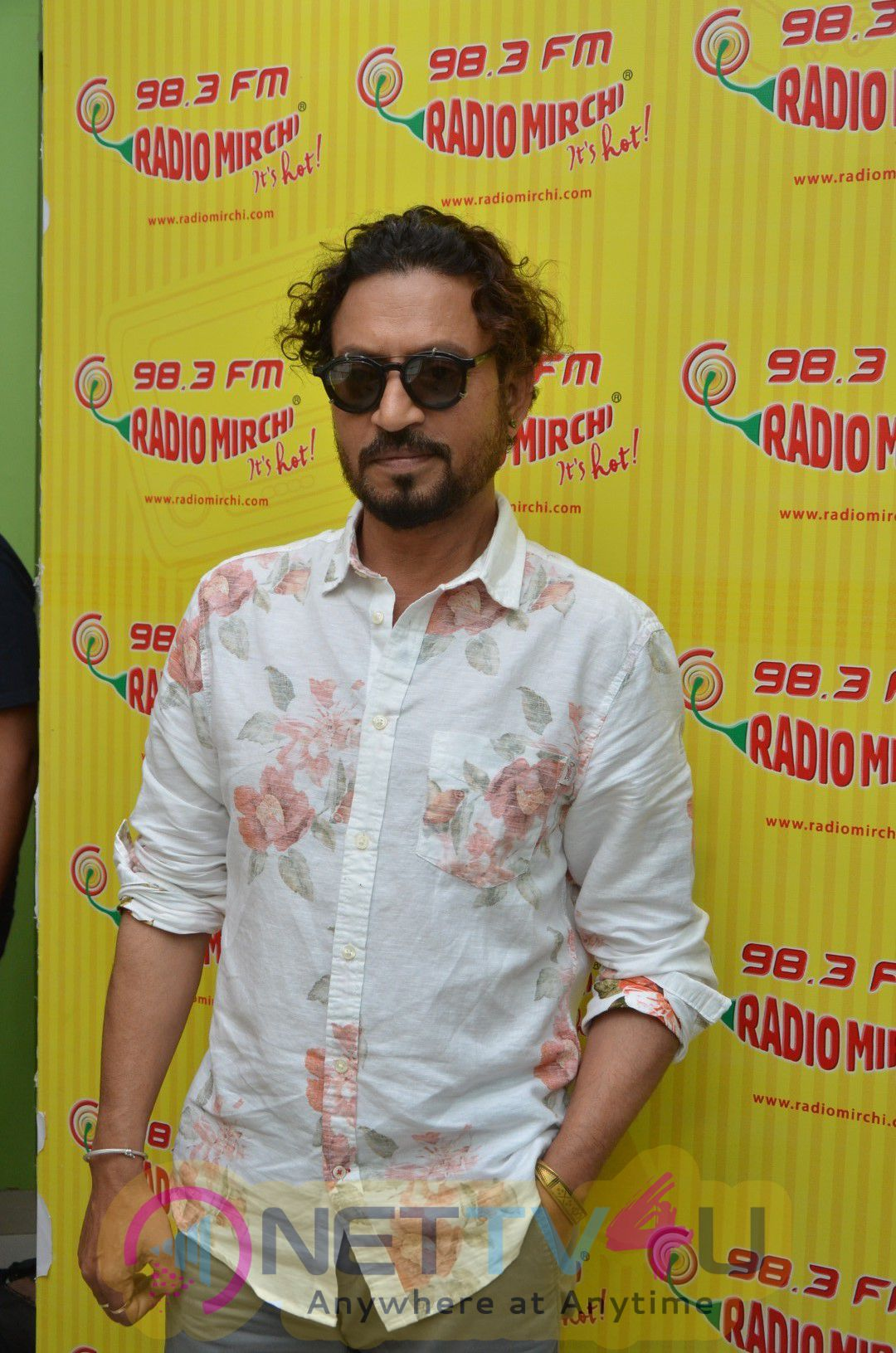 Irrfan Khan At Radio Mirchi To Promote Film Madari Photos