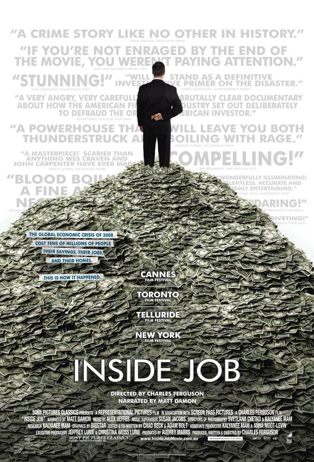 Inside Job Movie Review English