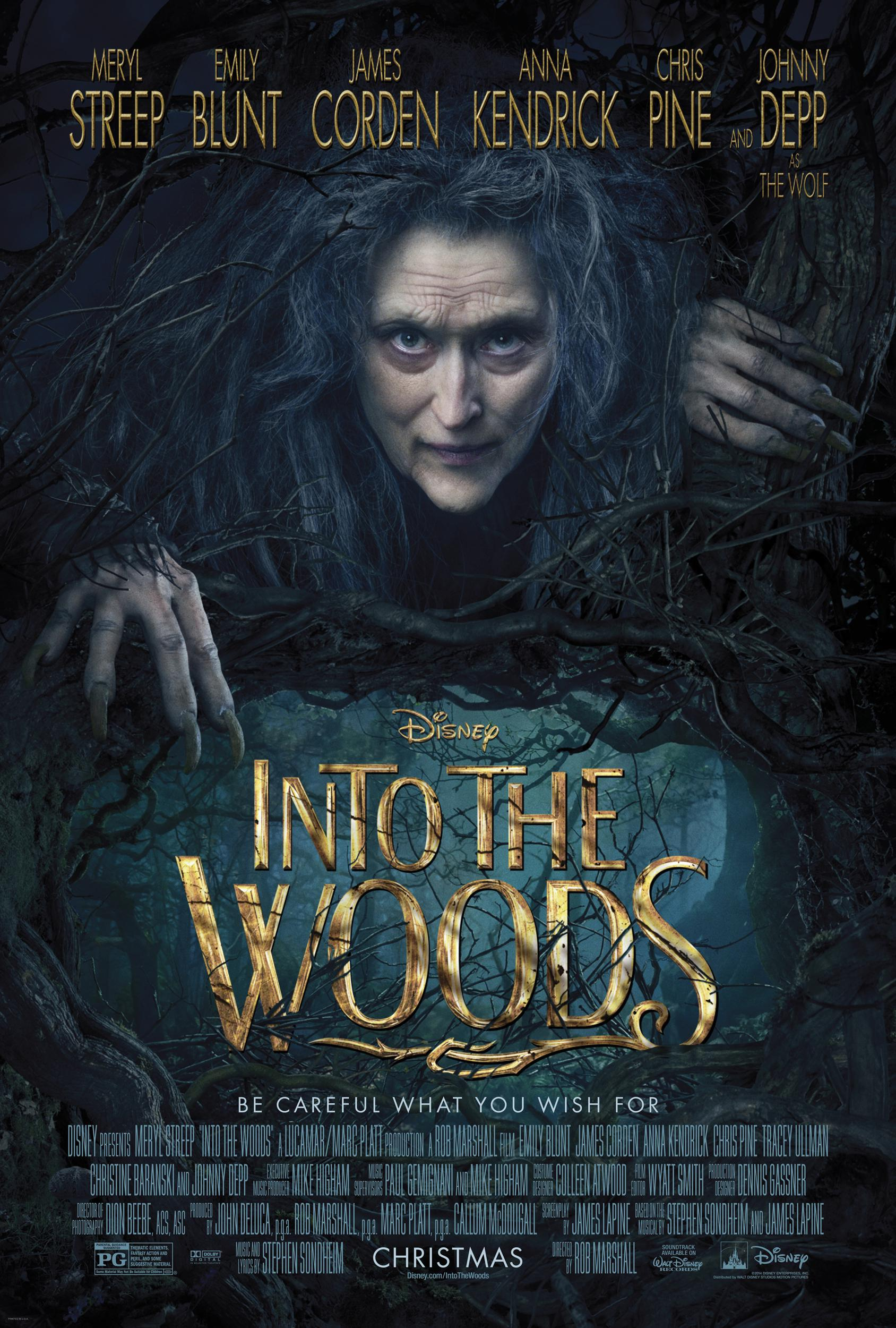 Into The Woods Movie Review English