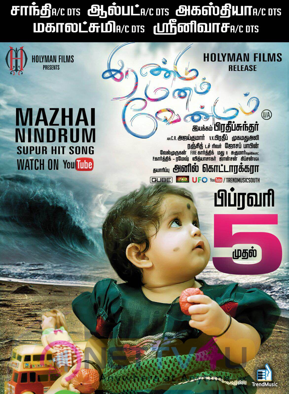 Irandu Manam Vendum Movie Release Date Posters