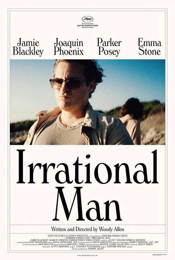 Irrational Man Movie Review English