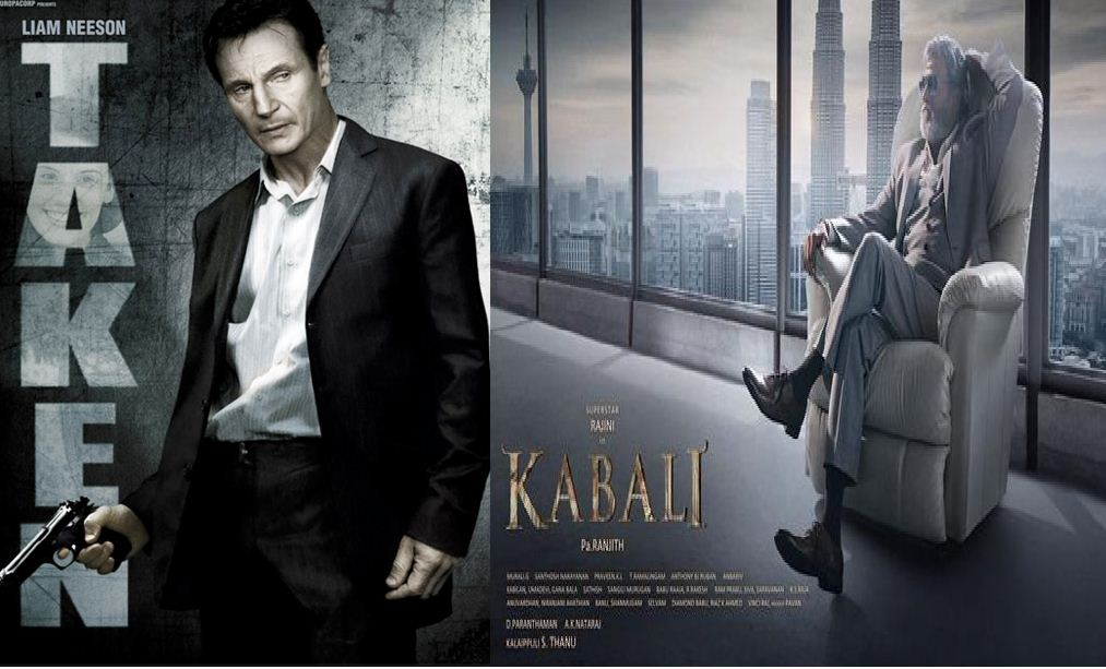 "Is ""Kabali"" A Copied Version Of ""Taken""?"