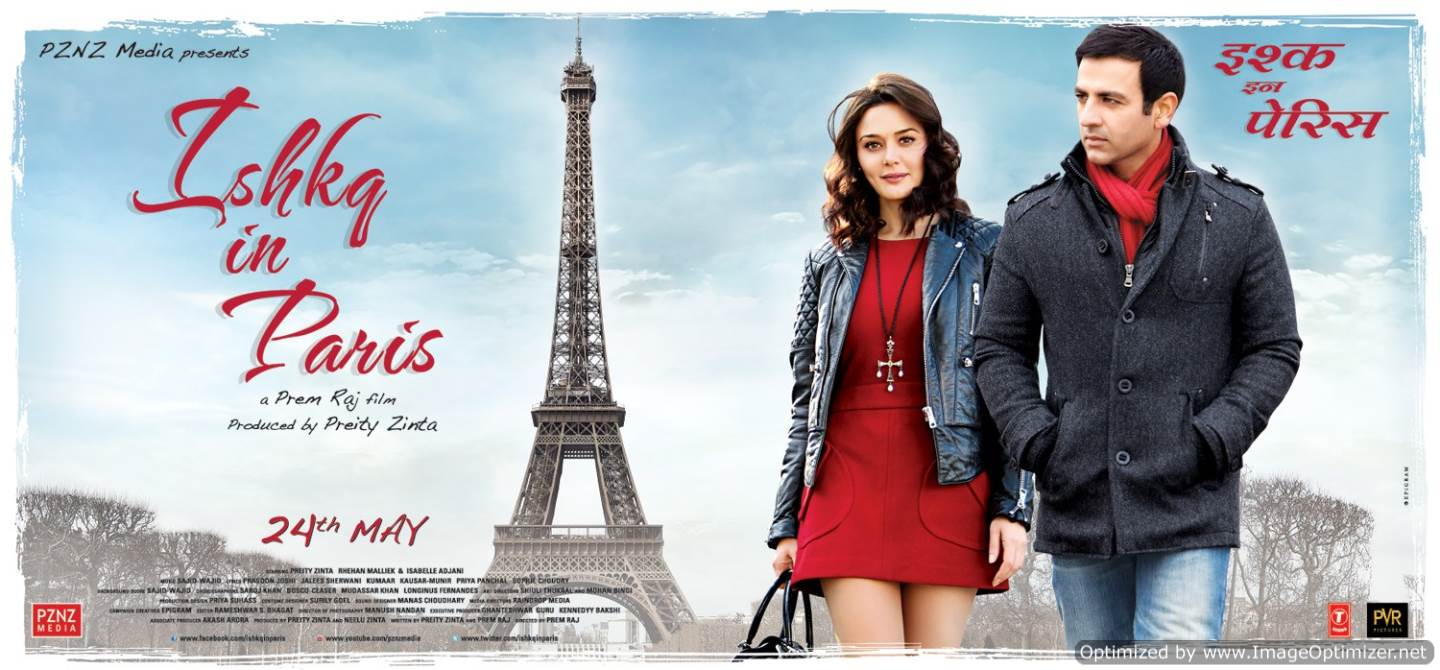 Ishkq in Paris Movie Review Hindi