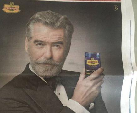 James Bond Endorses Pan Masala! Gets Trolled!
