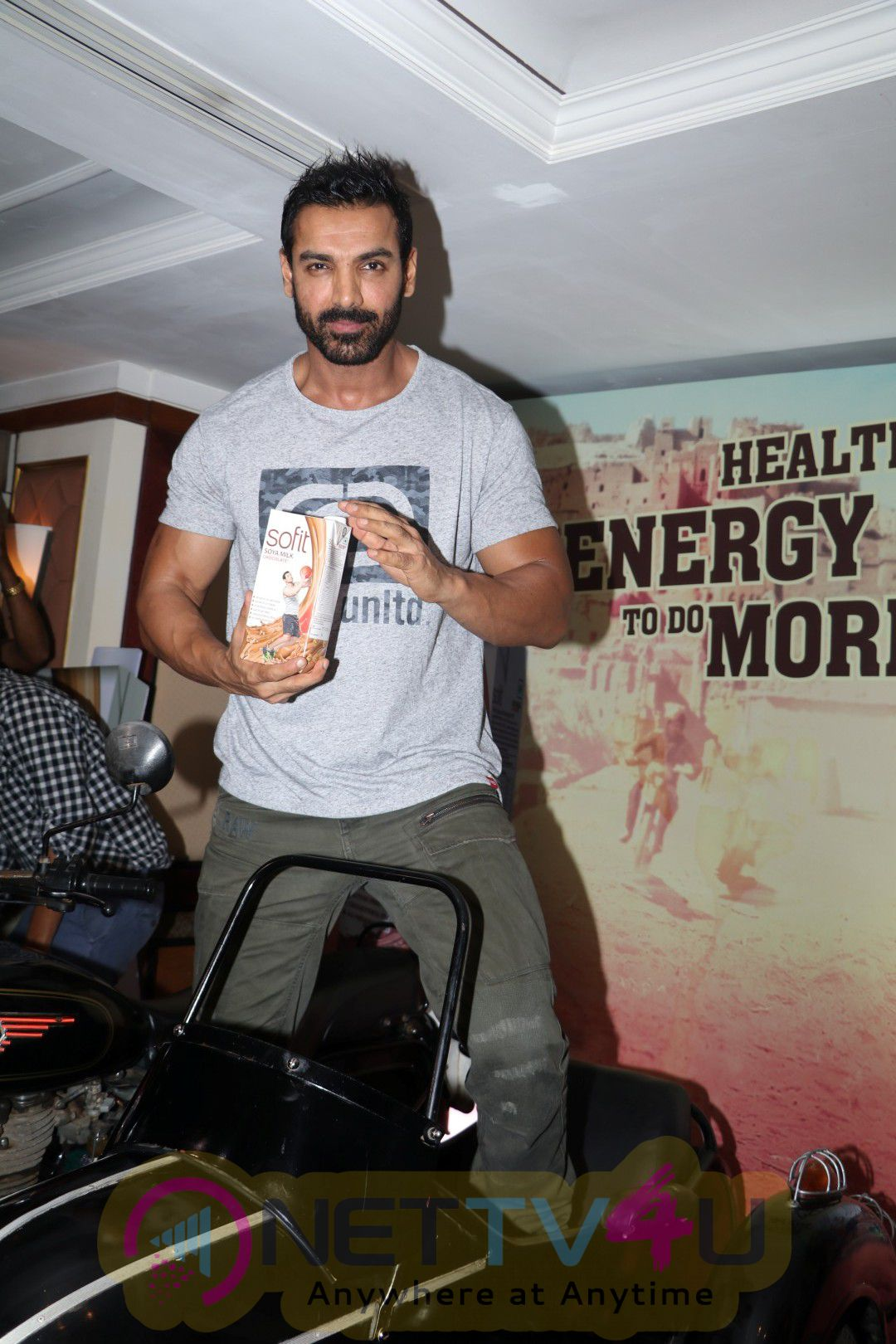 John Abraham Promoting Dishoom Attractive Photos