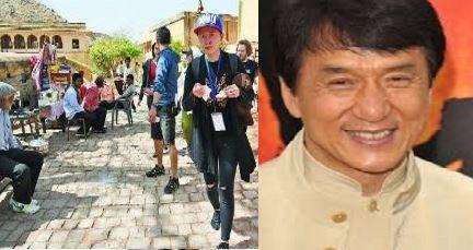 Jackie Chan's Kung Fu Yoga In Jaipur!