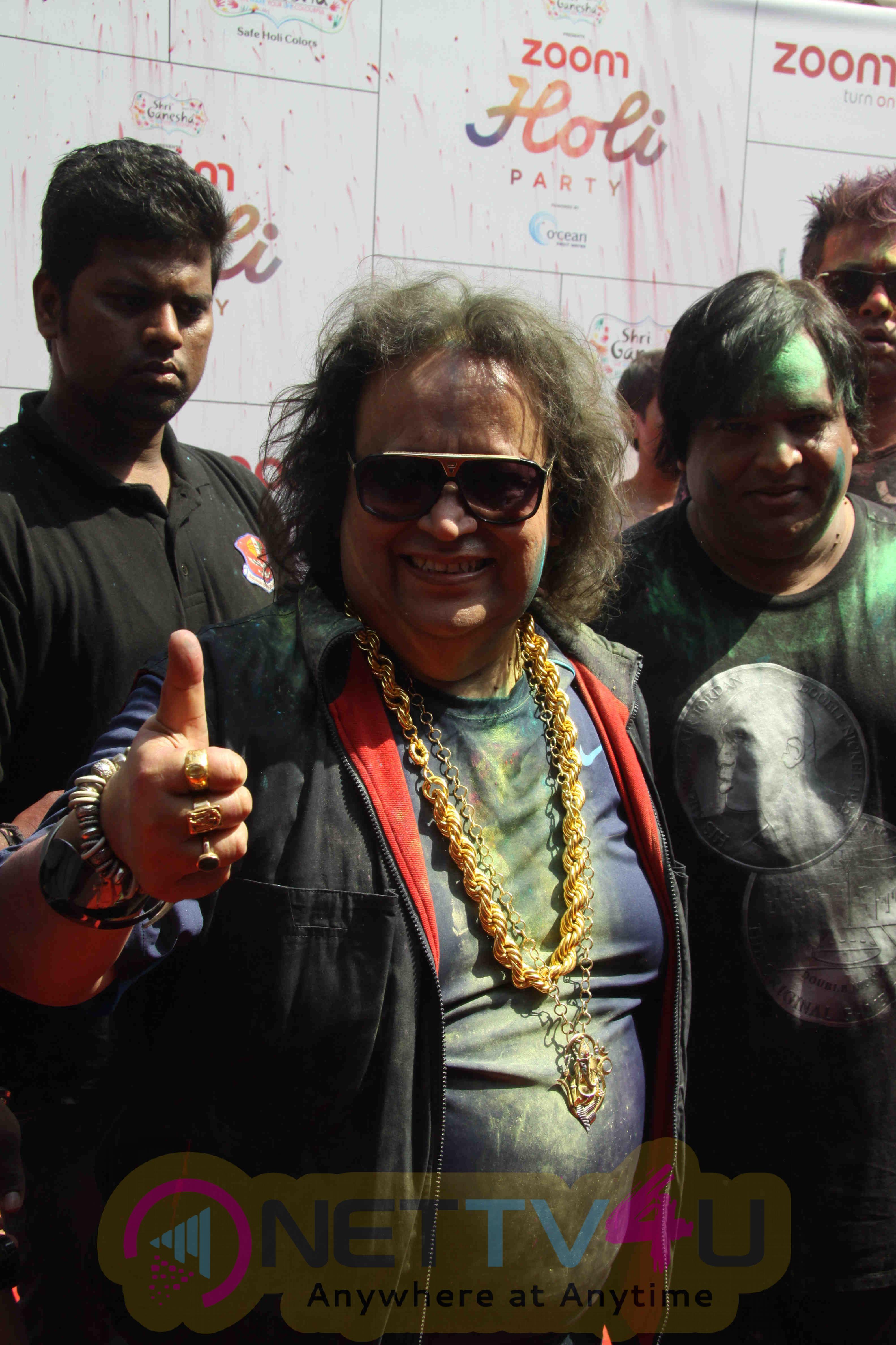 Jacqueline & SSR & Poonam Pandey At ZOOM Holi 2016 Celebrates Stills