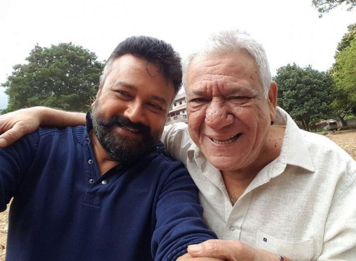 Jayaram's New Friend Is Bollywood's Om Puri!