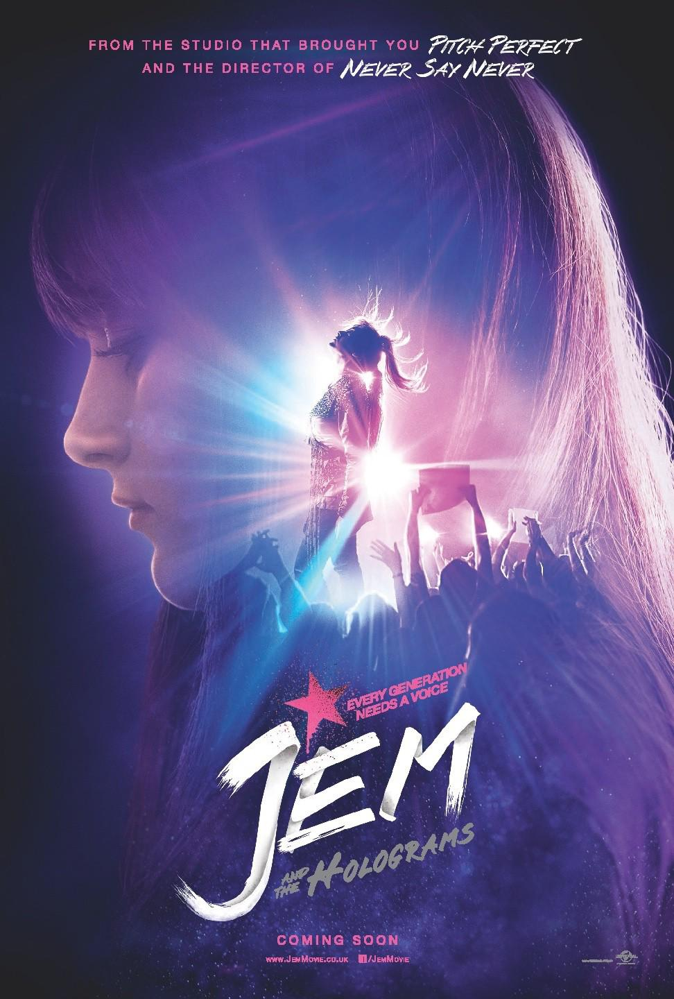 Jem and the Holograms Movie Review English
