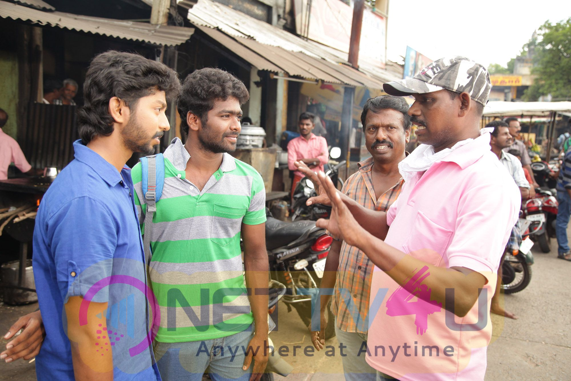 Kadhir New Tamil Movie Exclusive Photos & Working Stills Tamil Gallery