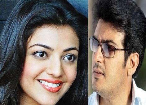 Kajal To Pair Ajith In AK 57?