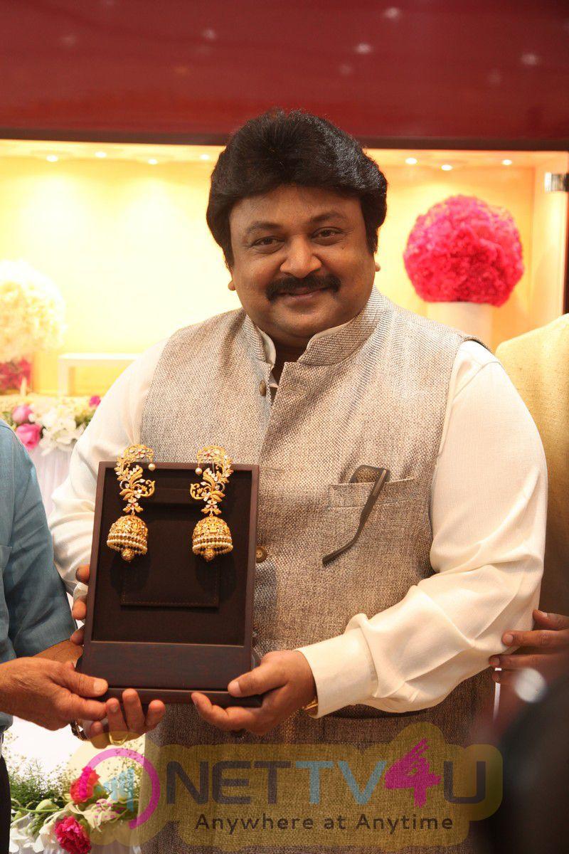 Kalyan Jewellers Formal Inauguration Of Exclusive Premier Of Beautiful Jewellery By Actor Prabhu